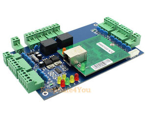 2 Doors 4 Readers Wiegand tcp ip network access control board panel controller