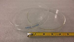 Pyrex Labware Petri Dishes Top And Bottom Set 120mmx20mm 5 5 x3 4 lot Of 10