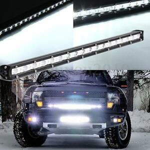 20 Inch 54w Led Slim Work Light Bar Spot Flood Combo Off Road Driving Suv Ute