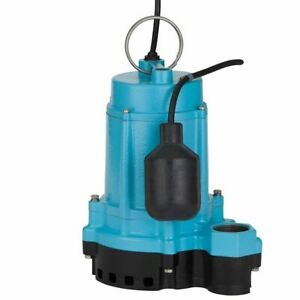 Little Giant 6ec cia rf 1 3 Hp Cast Iron Submersible Sump Pump W Piggyback