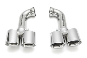 Fabspeed Porsche 958 V6 Deluxe Quad Tips For Pse Polished Chrome