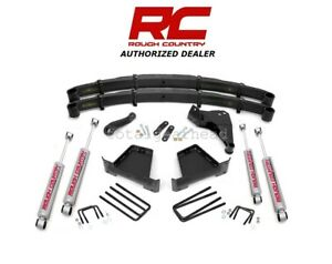 2000 2005 Ford Excursion 4wd 5 Rough Country Suspension Lift Kit 481 20