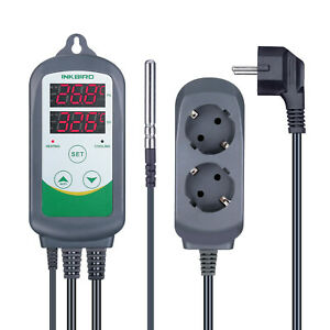 Eu Plug Inkbird Itc 308 Temperature Controller 220v Digital Thermostat 2 Relays