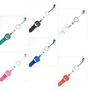 Lanyard With Badge Reel Yoyo Reel Magnetic Ibutton Various Colours