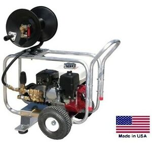 Drain Cleaner Jetter Commercial 4 Gpm 4000 Psi 13 Hp Honda Gp Pump