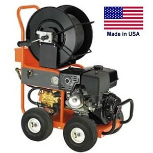 Pressure Washer Water Jetter Drain Sewer Gas 4 Gpm 3 000 Psi 13 Hp