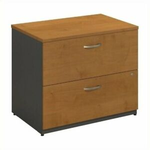 Bowery Hill 2 Drawer Lateral File In Natural Cherry