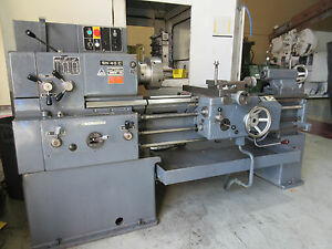 Tos Trencin Precision Gap Bed Engine Lathe Cap 16 24 X 40 Model Sn40c