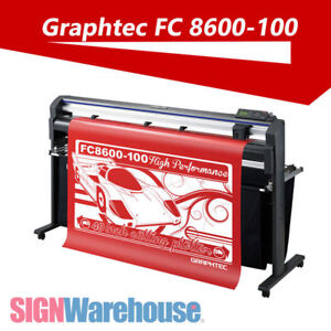 New Graphtec Fc8600 100 42 Vinyl Cutter Stand Plotter Machine Decal Kit Bundle