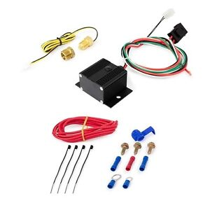 Adjustable Electric Fan Controller Kit 150 240 Thermal Switch Threaded Probe