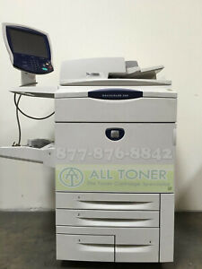 Xerox Docucolor 260 Digital Press Laser Production Printer Copy Scan Fiery 75ppm
