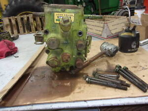 John Deere 60 Powr trol Valve With Dummy Plugs A3604r