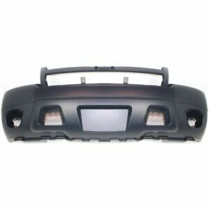 New Front Bumper Cover For Chevrolet Suburban 1500 2007 2014 Gm1000817