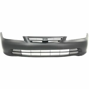 New Front Bumper Cover For Honda Accord 2001 2002 Ho1000196