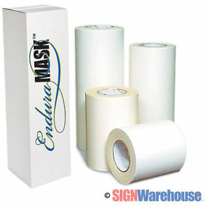 24 X 100 Yds Enduramask Application Transfer Tape Vinyl Layflat Adhesive Signs