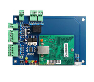 Wiegand 26 Bit Tcp ip Network Access Controller Board Panel Control For One Door