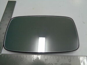 Porsche 911 928 944 964 Outside Rear View Mirror Glass With Round Mounting Hub