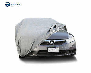 Fits 4 Layer Full Car Cover Outdoor Uv Heat Waterproof Covers For Station Wagon