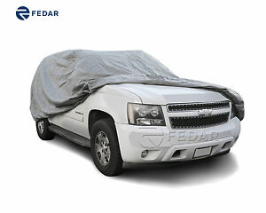 Fits 4 Layer Premium Truck Cover Outdoor Tough Waterproof Pickups Size Xl3