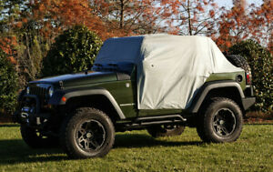 Truck Cab Top Cover Weather Lite Cab Cover 07 16 Jeep Wrangler Jk Fits Wrangler