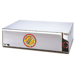 Apw Wyott Bw 20 Hot Dog Bun Warmer With 36 Bun Capacity