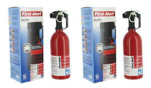 2 Automotive Fire Extinguisher With Automobile Mounting Bracket Fast Ship