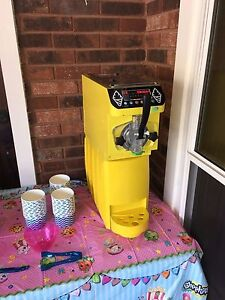 Soft Serve Ice Cream Frozen Yogurt Machine Yellow