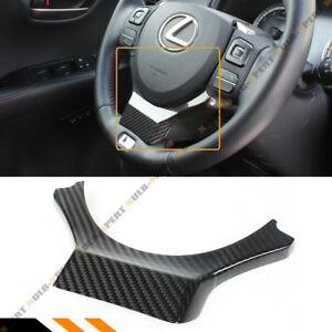Carbon Fiber Steering Wheel Add On Trim Cover For 15 2020 Lexus Rc350 200t Rc F