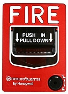 Firelite Fire Alarm Pull Station Emergency Training Health Safety Burn Flame