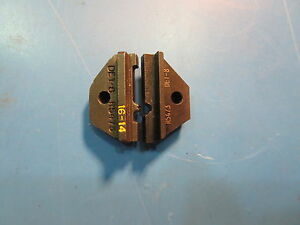 Thomas Betts R5473 Det 8 Crimping Die
