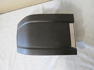 10 14 Ford Mustang Front Arm Elbow Palm Pad Rest Cushion Armrest Cover Black Oem