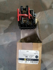 Square D 9421 Disconnect Switch