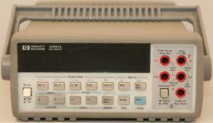 Agilent hp 34401a Digital Multimeter 6 5 Digit 6