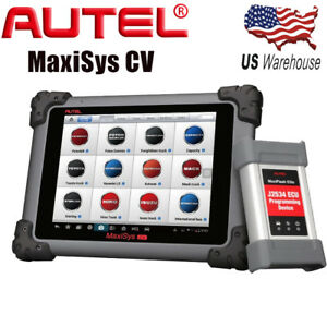Autel Maxisys Cv Hd Heavy Duty Diesel Truck Moduel Diagnostic Scanner Tool Code