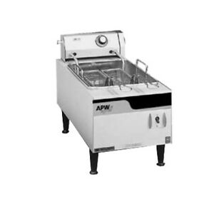 Apw Wyott Ef 15in 12 Countertop Electric Full Pot Champion Fryer