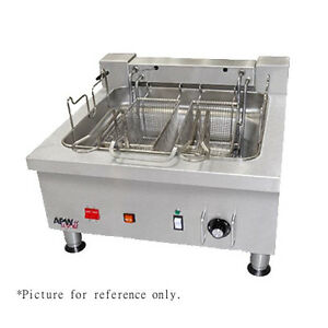 Apw Wyott Ef 30int 24 Countertop Electric Full Pot Champion Fryer