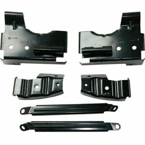 New Front Bumper Bracket For Gmc Sierra 1500 Hd 2003 2006