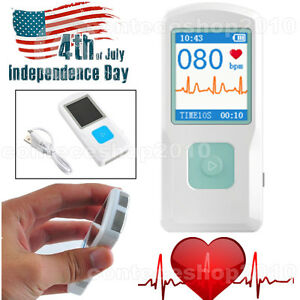 Contec Portable Ecg Monitor Pm10 With Bluetooth Heart Beat Monitor