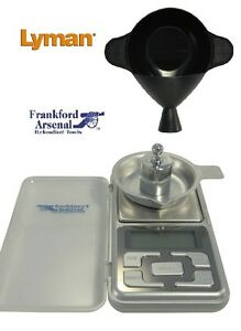 COMBO * Electronic Powder Scale AND Powder Funnel Pan * 205205 + 7752433 *  New!