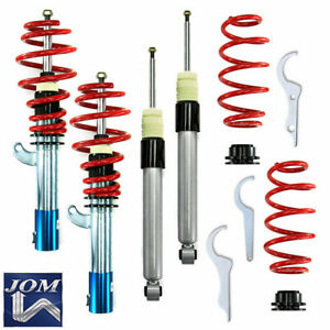 Jom Vw Passat B6 Cc Tiguan Height Adjustable Coilover Suspension Lowering Kit R