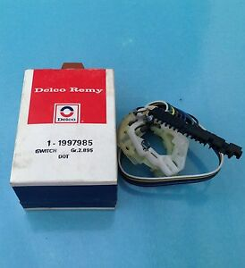 Nos Vintage Delco Remy Turn Signal Switch Part 1997985 1973 1990 Gm