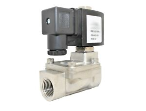 3 4 Stainless Steel Solenoid Valve Electric Normally Closed Water Gas Air Ro