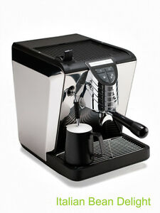 Simonelli Oscar Ii Black Plumbed Automatic Programmable Espresso Machine