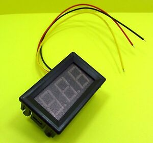 Three Wire 0 56 0 100v Led Voltage Meter 3 Digital Segment Display Voltmeter