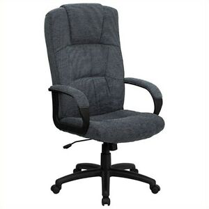 Flash Furniture High Back Office Chair Executive Chairs In Gray