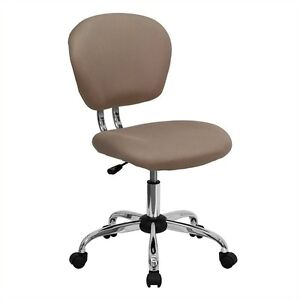 Flash Furniture Mid back Mesh Task Office Chair In Coffee Brown