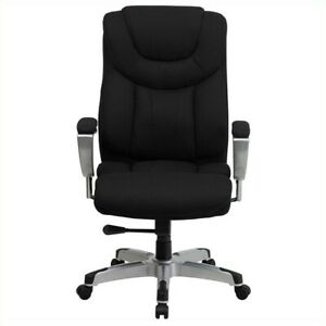 Flash Furniture Hercules Series Tall Office Chair With Arms In Black