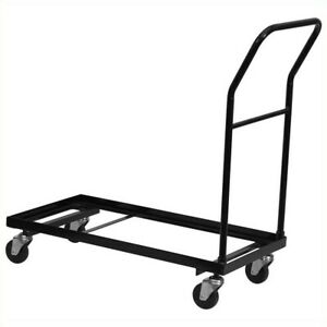 Flash Furniture Dolly Folding Chair In Black