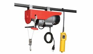 440 Lb Electric Overhead Home Shop Garage Hoist With Remote Control 39ft Cable