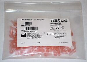 Bag Of 100 Natus Bio logic Oae Disposable Probe Tree Tip For Preemie Newborns